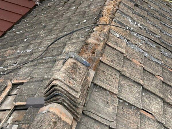 戸畑区で築年数50年!瓦屋根の雨漏り 屋根葺き替え工事【現場BLOG】の画像