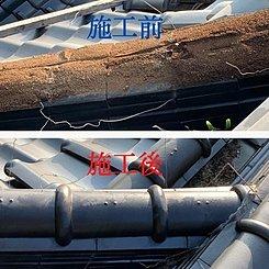 雨漏りにお困りの住職様より、瓦屋根の改修工事をご依頼いただきましたのイメージ